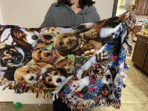 Beautiful Handmade with love Throw blanket for Sale in South Gate, CA