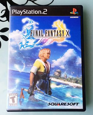 Final Fantasy X⚡Greatest Hits - PlayStation 2 (PS2) w/ Manual !! for Sale in Tampa, FL