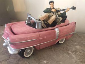 Elvis Presley Pink Cadillac Car Cookie Jar for Sale in Anaheim, CA