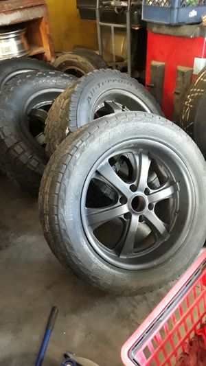Set of 22s RIMS AND TIRES for Sale in Goose Creek, SC