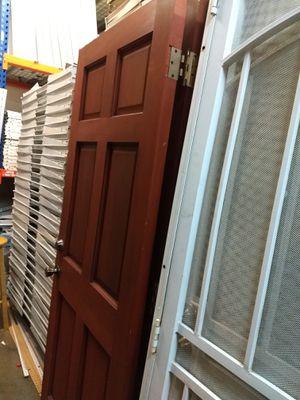 Solid wood door 32×79 for Sale in Pico Rivera, CA
