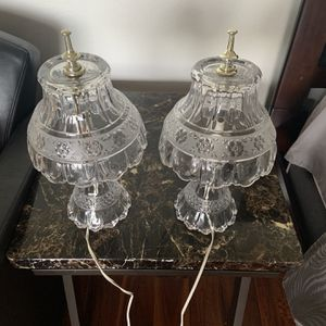 Vintage Lamps Glass for Sale in Spring Valley, CA