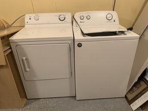 Amana washer and GE dryer for Sale in South Brunswick Township, NJ