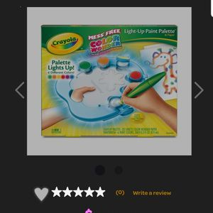New Crayola Mess Free Color Wonder Light Up Paint Palette for Sale in Inver Grove Heights, MN