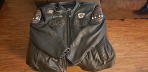 Harley davidson leather riding jacket 3xl for Sale in Victoria, TX