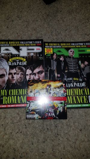MY CHEMICAL ROMANCE OCT. 2016 MAGAZINES ALTERNATIVE PRESS ISSUE #339 VIDEO OUTTAKES DVD for Sale in Glendale, AZ