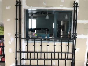 Rustic King Wrought Iron Bedframe for Sale in Hobe Sound, FL