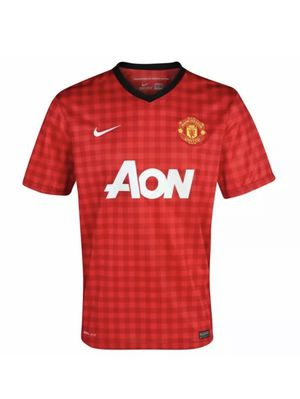 Nike Manchester United Home Boys Soccer Football Jersey 2012 - L for Sale in Portland, OR