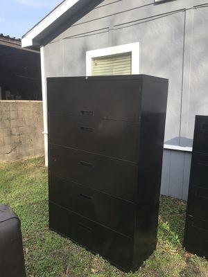 Metal file cabinet for Sale in Dallas, TX