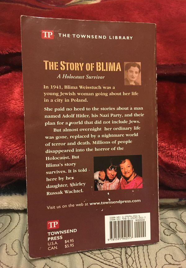 the story of blima a holocaust survivor