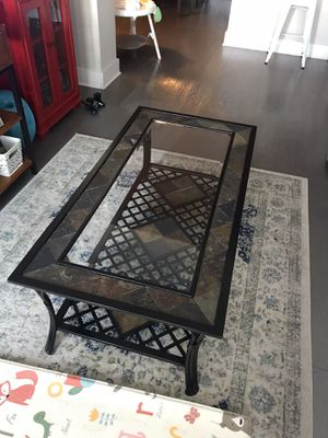 Glass Coffee Table for Sale in Durham, NC