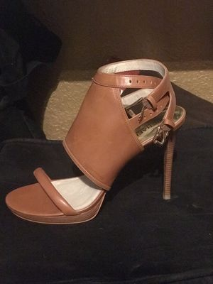 Michael Kors Tan Heels for Sale in Fort Worth, TX