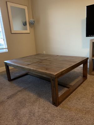 Wood table for Sale in Sanger, CA