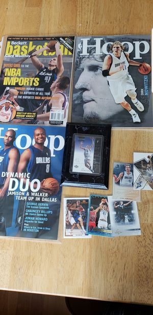 Dirk Nowitzki Dallas Mavericks NBA basketball memorabilia for Sale in Gresham, OR