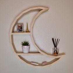 MTO Handmade Wood Moon Shelf for Sale in Tampa,  FL