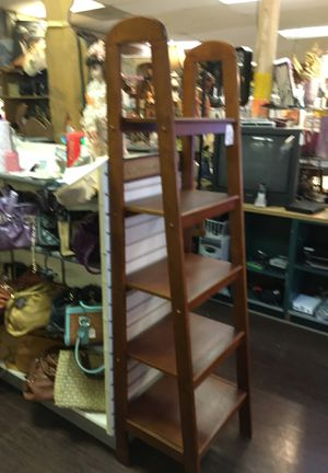 6' tall ladder shelf for Sale in Fort Worth, TX