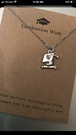 Graduation charm necklaces- $10 for Sale in Chula Vista, CA