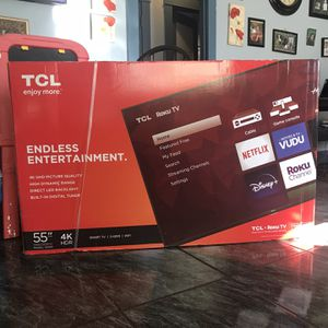 TCL 55 Inch 4K TV for Sale in South Gate, CA