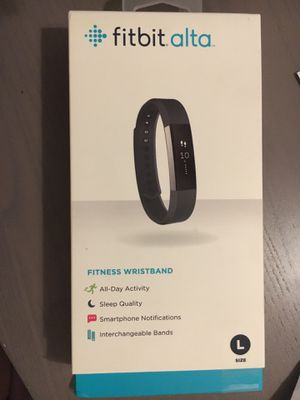 Brand new Fitbit Alta in unopened box for sale for Sale in Cedar Park, TX