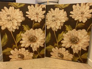 2 piece canvas wall art for Sale in Irvine, CA