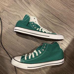 Green Converse 9.5 Men/11.5 Women Brand New for Sale in Redmond, WA