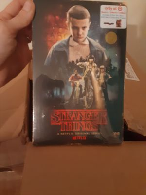Stranger things series dvds for Sale in Selma, NC