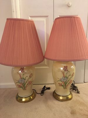Two Table Lamps $15 each or both for $25 for Sale in Charlotte, NC