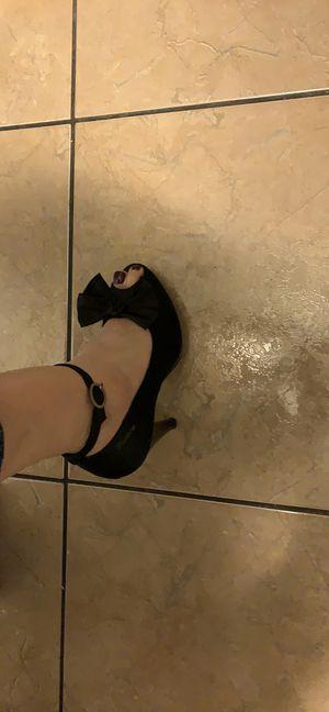 Mustang Flavia fancy satin heels various sizes for Sale in Las Vegas, NV