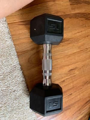 Weights Dumbells 15 pounds $15 for Sale in Sacramento, CA