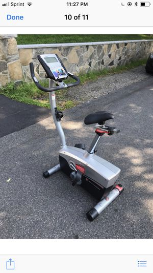 SCHWINN EXERCISE BIKE FREE DELIVERY IF YOUR IN THE BOSTON AREA OR 5 MILES FROM DEDHAM MA for Sale in Boston, MA