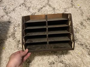 Antique mail sorter desk organizer for Sale in Cleveland, OH