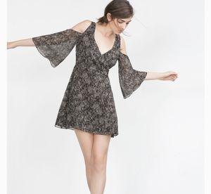 Zara Snake Skin Pattern Cold Shoulder Dress for Sale in Santa Monica, CA