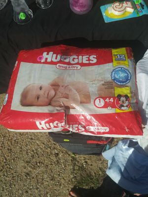 Huggies diapers size 1 for Sale in Prattville, AL