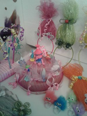 Troll party supplies for girl for Sale in Lancaster, PA