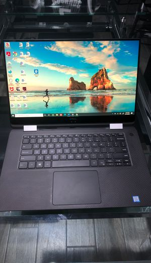 """Dell XPS 15 9575 2-in-1 touchscreen laptop with keyboard 15.6"""" ultra thin for Sale in Tempe, AZ"""