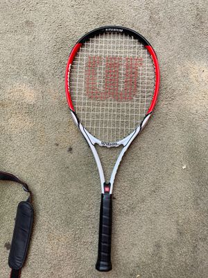 Tennis racket with cover for Sale in Los Angeles, CA