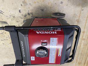 Honda generator EU3000IS for Sale in Stafford Township, NJ
