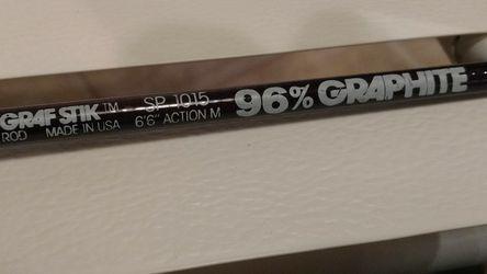 "Shakespeare Graf Stik SP 1015 6'6"" Fishing Rod for Sale in SeaTac,  WA"