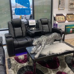 Black Leather Sofa & Loveseat & Chair for Sale in Detroit,  MI