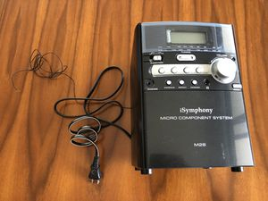 iSymphony M26 Micro Component System Stereo (Remote Included) for Sale in Washington, DC