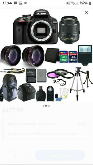 Nikon D3400 for Sale in Hilo, HI