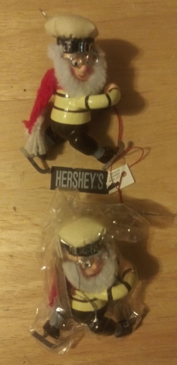 Hershey & Campbell's Christmas ornaments