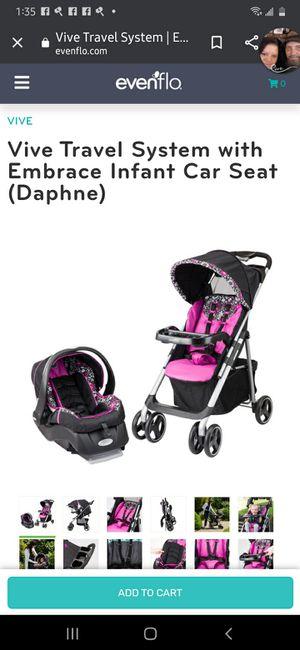 Vive car seat & stroller for Sale in Wichita, KS