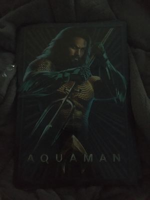 9x13in. aqua man dc justice league metal sign art decor for Sale in North Brunswick Township, NJ