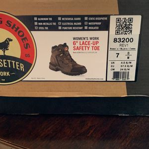 Red Wing Steel Toe Woman's Work Boot for Sale in Troutdale, OR