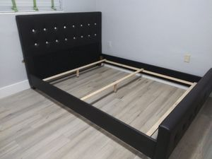 $299 queen bed frame brand new free delivery same day for Sale in Miramar, FL