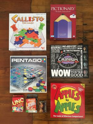Awesome board game lot - 8 fun party & family games! for Sale in San Diego, CA