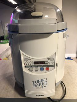 DAK TURBO BAKER (bread Maker) for Sale in Houston,  TX