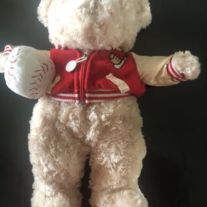 Baseball Player Teddy Bear Plush for Sale in Wilmington, OH