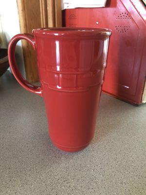 Longaberger Woven Traditions latte mug for Sale in Molalla, OR